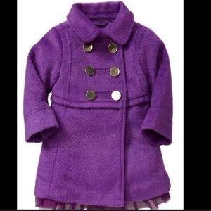 "Gap prism purple peacoat "" shimmering "" threads 3T"